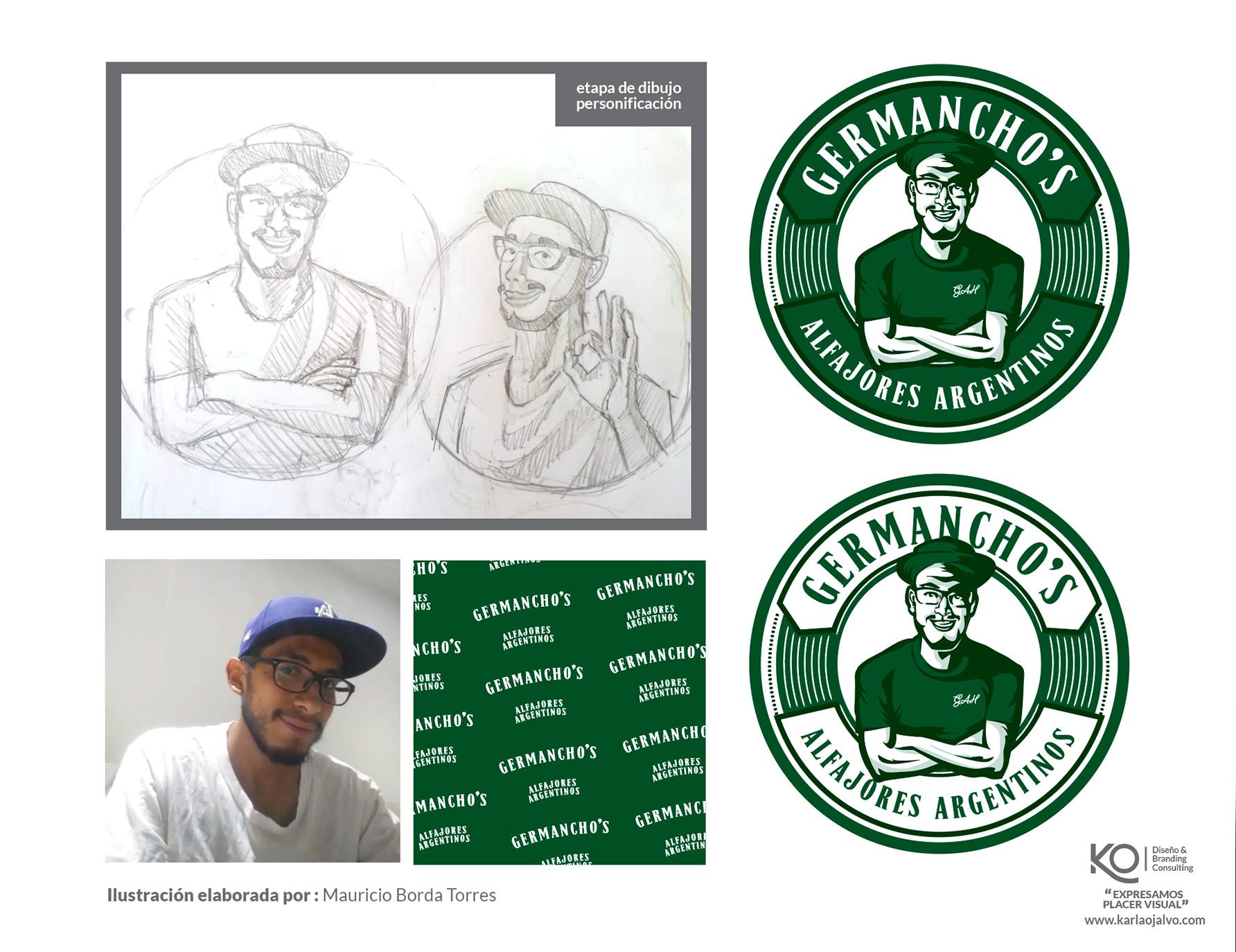 ilustración y marca